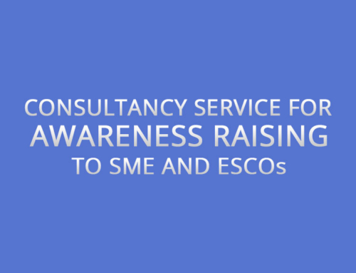 Consultancy Service for Awareness Raising to SME and ESCOs